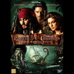 u11224 Pirates Of The Caribbean 2: Død Mands Kiste (UDEN COVER)