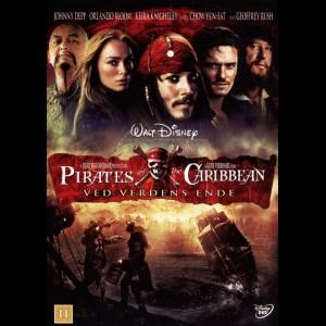 u13569 Pirates Of The Caribbean 3: Ved Verdens Ende (UDEN COVER)