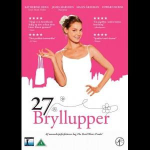 u7076 27 Bryllupper (27 Dresses) (UDEN COVER)