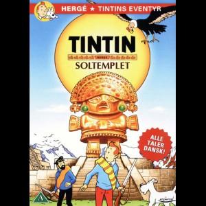 u15462 Tintin & Soltemplet (UDEN COVER)