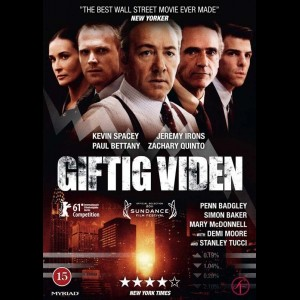 u15647 Giftig Viden (Margin Call) (UDEN COVER)