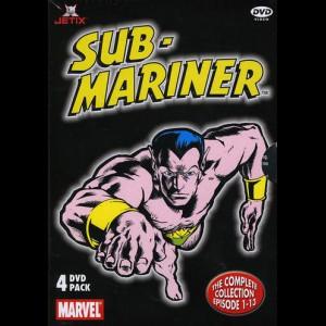 Sub-Mariner: Episode 1-13  -  4 disc