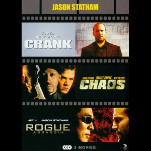 Jason Statham: Crank + Chaos + Rogue Assassin  -  3 disc