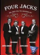 Four Jacks: Åh, den vej til Mandalay (DVD+CD)