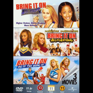 Bring It On 2-4  -  3 disc