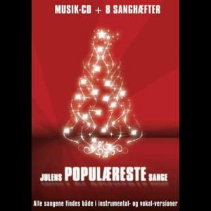 Musik-CD: Julens Populæreste Sange (Musik-CD + Sanghæfter)
