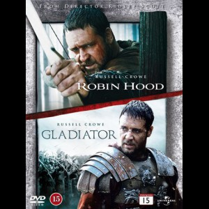 Robin Hood (2010) + Gladiator  -  2 disc