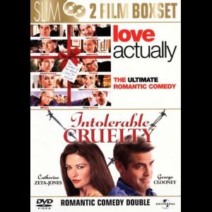 Love Actually + Intolerable Cruelty  -  2 disc