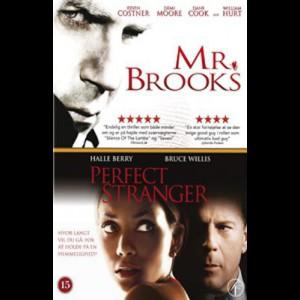 Mr. Brooks + Perfect Stanger  -  2 disc