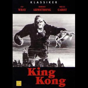 King Kong (1933) (Sort/Hvid)