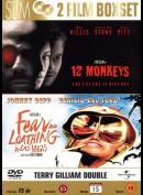 12 Monkeys + Fear And Loathing In Las Vegas  -  2 disc