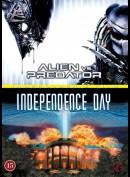 Alien vs. Predator + Independence day  -  2 disc