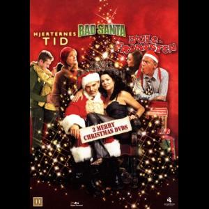 3 Merry Christmas DVDs  -  3 disc (Juleboxen)