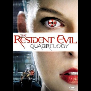 The Resident Evil Quadrilogy  -  4 disc