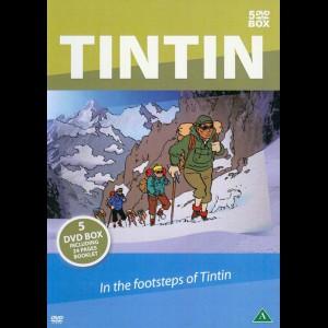 Tintin: En Eventyrrejse I Tintins Fodspor  -  5 disc (Dokumentar)