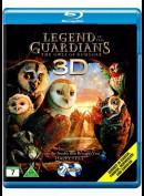 Legenden Om Vogterne: Uglerne Fra GaHoole 3D (Blu-ray 3D + Blu-ray)