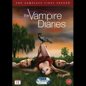 -4653 The Vampire Diaries: Sæson 1 (KUN ENGELSKE UNDERTEKSTER)