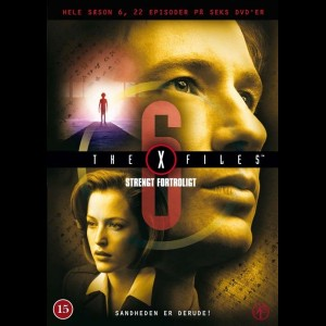 -8370 The X-Files: Season 6 (KUN ENGELSKE UNDERTEKSTER)