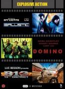 Ballistic + Domino + B13: District 13  -  3 disc