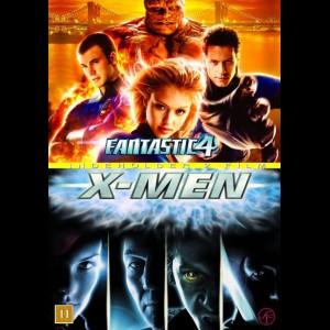 Fantastic 4 + X-Men  -  2 disc