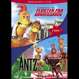 Flugten Fra Hønsegården + Antz  -  2 disc