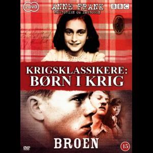 Krigsklassikere - Børn I Krig: Anne Frank + Broen  -  2 disc