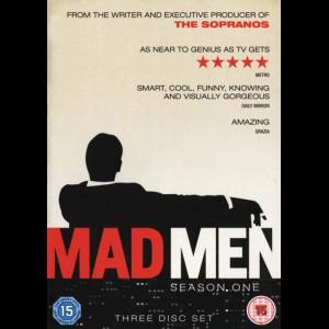 -3690 Mad Men: Sæson 1 (KUN NORSKE OG SVENSKE UNDERTEKSTER)