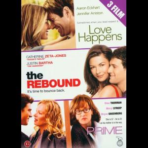 Love Happens + The Rebound + Prime  -  3 disc