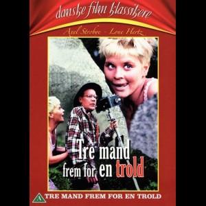 u10789 Tre Mand Frem For En Trold (UDEN COVER)