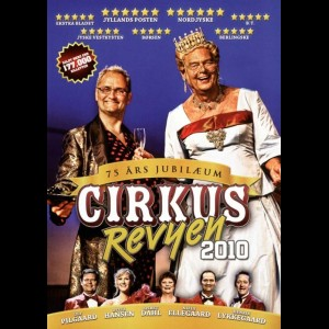 u10594 Cirkusrevyen 2010 (UDEN COVER)