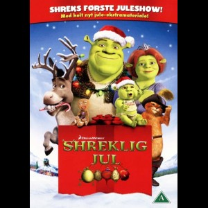 u13909 Shreklig Jul (Shrek The Halls) (UDEN COVER)