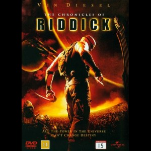 u13973 The Chronicles Of Riddick (UDEN COVER)