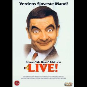 u13803 Rowan Atkinson: Live (UDEN COVER)