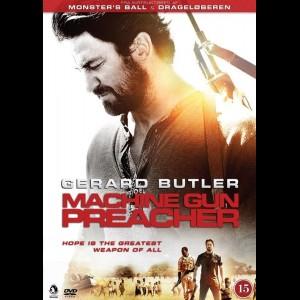 u15585 Machine Gun Preacher (UDEN COVER)