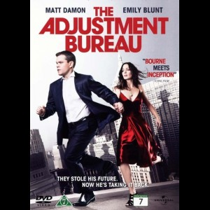 u4052 The Adjustment Bureau (UDEN COVER)