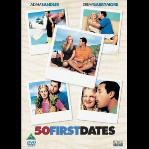 u15371 50 First Dates (UDEN COVER)