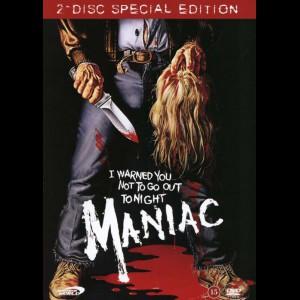 u15978 Maniac (1980) (UDEN COVER)