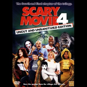 u14790 Scary Movie 4 (UDEN COVER)