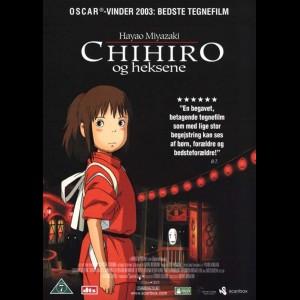 u16188 Chihiro Og heksene (UDEN COVER)