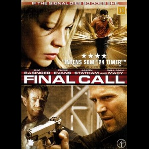 u15452 Final Call (Cellular) (UDEN COVER)