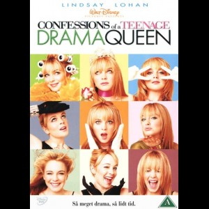 u13811 Confessions Of A Teenage Drama Queen (UDEN COVER)