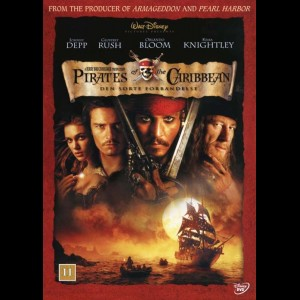 u4350 Pirates Of The Caribbean 1: Den Sorte Forbandelse (UDEN COVER)