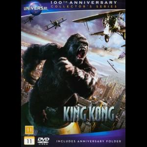 u4396 King Kong (2005) (UDEN COVER)