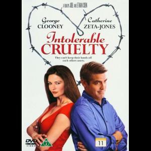 u4458 Intolerable Cruelty (UDEN COVER)