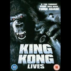 u14189 King Kong Lives (1986) (UDEN COVER)