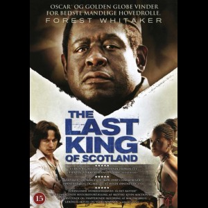 u4809 The Last King Of Scotland (UDEN COVER)