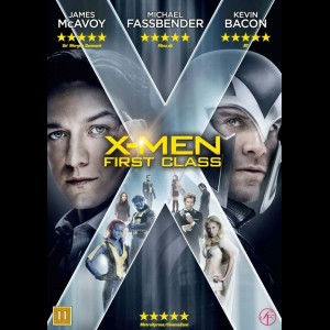 u11347 X-Men: First Class (UDEN COVER)
