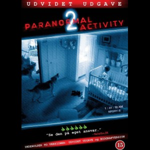 u4890 Paranormal Activity 2 (UDEN COVER)