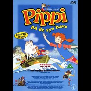 u11271 Pippi På De Syv Have (Tegnefilm) (UDEN COVER)