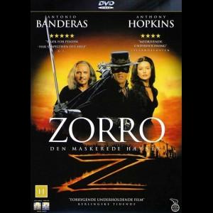 u16380 Zorro: Den Maskerede Hævner (The Mask Of Zorro) (UDEN COVER)